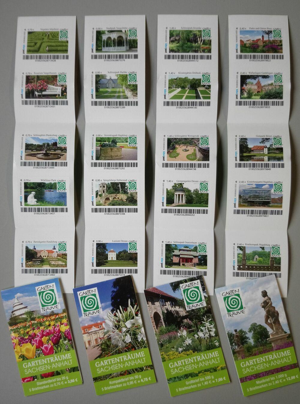 Alle 20 Briefmarken