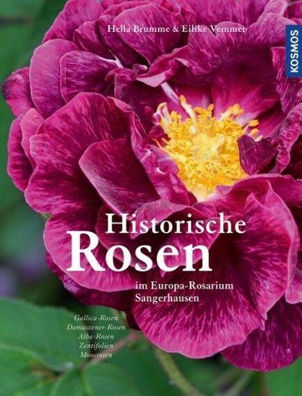 """Buchcover """"Historische Rosen im Europa-Rosarium Sangerhausen"""""""