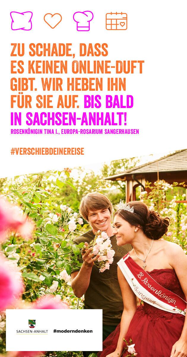 #verschiebdeinereise, Europa-Rosarium Sangerhausen